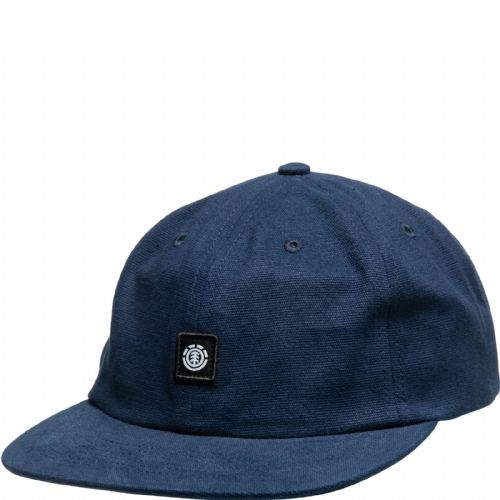 ELEMENT MENS BASEBALL CAP.POOL DECONSTRUCTED NAVY BLUE ADJUSTABLE COTTON HAT S20
